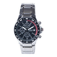 Croton Men's CC311359RDBK Quartz Chronograph Black and Red Dial 42mm Watch