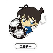 Case Closed Detective Conan Kudou Shinichi Pitacolle Rubber Phone Strap
