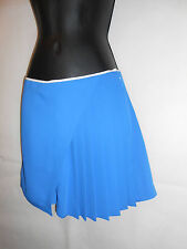 New CLOVER CANYON, Blue Half Pleated Skirt - Shorts Size S