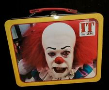 It the Movie / Pennywise Clown - Large Tin Tote / Metal Lunch Box