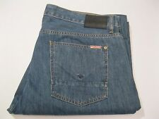 Hudson WILDE Relaxed Straight Fit Distressed Blue Jeans 40x28 – EUC