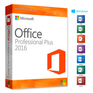 🚚‌OFFICEⓄ2016 PROFESSIONAL PLUS 32/64 BIT 🚚LICENSE KEY ✔ORIGINAL✅