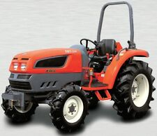 KIOTI - DAEDONG EX Series Compact Tractor Service,Operator's and Parts Manual CD
