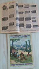 Catalogue Articles de voyage – Malle valise 1911 40 p Manufrance St Etienne