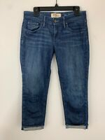 Anthropologie Holding Horses Denim Cuffed Cropped Jeans Size 28