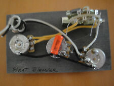 MADE FOR STRATOCASTER, BLENDER WIRING HARNESS CTS CLR  SWITCHCRAFT PROJECT PART