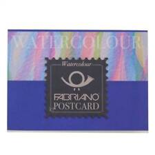 Fabriano Watercolour paper Postcard Pack paper 20 Postcards artists blank A6