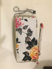 Anna Sui Embellished Floral Wallet Clutch. Gently used
