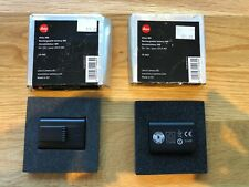 Leica M8, M8.2 & M9 Rechargeable Battery. Boxed (Tatty)