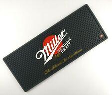 New Free Shipment Miller GENUINE DRAFT beer drip mat drink mat bar mat spill mat