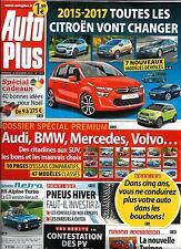 AUTO PLUS N°1371 12 DECEMBRE 2014  FUTURES CITROEN/ SPECIAL PREMIUM/ PNEUS HIVER