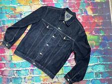 AM50 Teddy Smith Blue Denim Jacket Large
