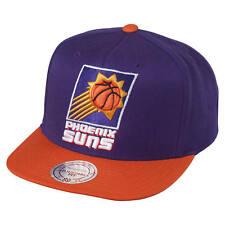 Phoenix Suns Mitchell & Ness NBA 90s Logo Snapback Hat Cap