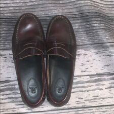 Sperry Top-Sider Brown Leather Loafers Size 7 M