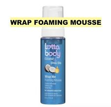 LOTTABODY WRAP ME FOAMING MOUSSE FOR RELAXED AND NATURAL HAIR 7oz