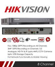 Hikvision DS-7208HQHI-K1 8 Channel TVI, DVR & NVR Tribrid CCTV Recorder