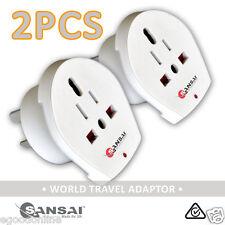 Sansai Universal World Travel Adapter US/UK/AU/EU