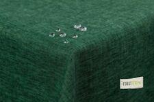 Tischdecke Leinenoptik Lotuseffekt abwaschbar mit gerader Saumkante 180 rund in