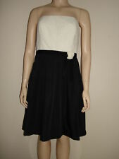 LAUREN, Dress, Black/White, Size 12, NWT$190
