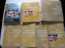 Holt Elements of Literature 2003 First Course Huge lot