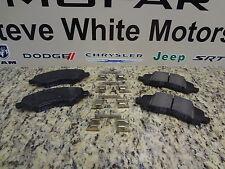 07-17 Chrysler Dodge Jeep New Front Disc Brake Pad Kit Mopar Factory Oem