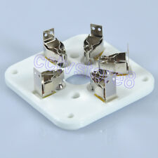 2pcs 5Pin Ceramic Tube Socket For Eimac 3-500Z 3-500 4-400 Ham U5G Base