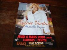 SYLVIE VARTAN - RARE FLYER ZENITH NOUVELLE VAGUE !!!!!!