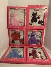 Barbie & Kelly Fashion Avenue Mattel 1196-1998 Bundle Of 6 Asst. 18111 & 17292