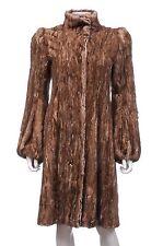Prada vison fourrure long manteau/marron/rrp: £ 15,000 +