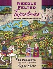 NEEDLE FELTED TAPESTRIES - RUSSO, NEYSA - NEW PAPERBACK BOOK