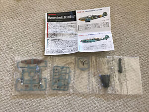 1/144 Takara Famous Airplanes Of The World BF-109 E Tropical Werner Schroer