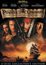 Pirates of the Caribbean: The Curse of the Black Pearl (DVD, 2004)