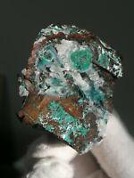 Reward Mine Chrysocolla Malachite Quartz Calcite reiki healing chakra crystals