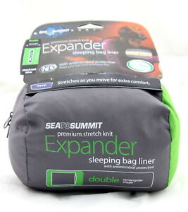 Sea to Summit Expander Sleeping Bag Liner - Double Size - Navy - BRAND NEW