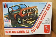 AMT INTERNATIONAL OFF ROAD SCOUT SS II 1/25 SCALE MODEL KIT