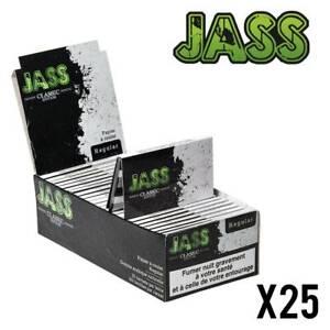 JASS Regular  Lot de 25 Carnets (Feuilles,Papier à Rouler)