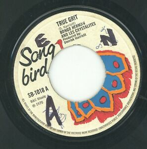 """ TRUE GRIT. ""  bongo herman & les crystalites. SONG BIRD 7in 1970."