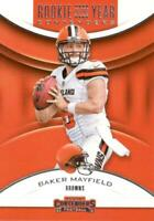 2018 Panini Contenders of the Year Baker Mayfield #RYA-BM Rooki Cleveland Browns