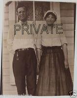 Copy of 1915 Wedding Photo - Grandma & Grandpa KEY Family, Martha & Olwin ?