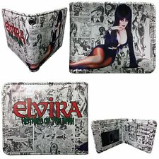 Kreepsville 666 Elvira Mistress of the Dark Horror Comic Strip Wallet WECS