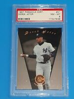 1997 Derek Jeter #51 Pinnacle Certified - PSA 8 NEAR MINT-MINT New York Yankees