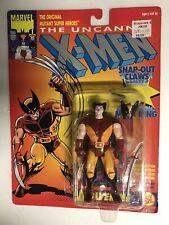THE UNCANNY X-MEN WOLVERINE 1ST SERIES BROWN OUTFIT ACTION FIGURE 1992