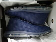 Nike Air Max Woven Boot 921854-400 Midnight Navy/Midnight Navy Mens Size 11.5