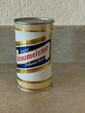 Braumeister Flat Top Beer Can - Empty No Contents-Milwaukee, Wis