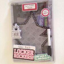 Locker Rockers- Glam Rock Dry Erase Board Star Shape School supplies