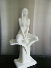 Modern White Nude Lady Figurine by The Leonardo Collection LP23374