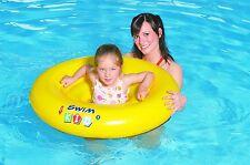 GONFIABILE BABY CARE SEDILE Nuotare Anello Sostegno Piscina Aiuto Nuoto Galleggiante TRAINER