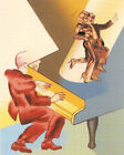 Allen Jones Come Dancing 2003 Screenprint Print LE 45 Rare