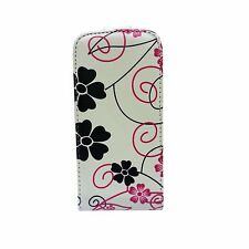 Leather Patterned Mobile Phone Wallet Cases for Samsung