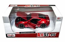 MAISTO 1:24 W/B ALLSTARS 2009 NISSAN 370Z Diecast Car Red 31353